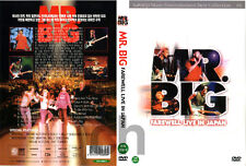 MR. BIG - Farewell Live in Japan (2002)   DVD NEW