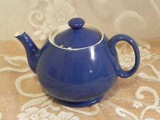 Vintage Moorcroft Powder Blue Covered Teapot