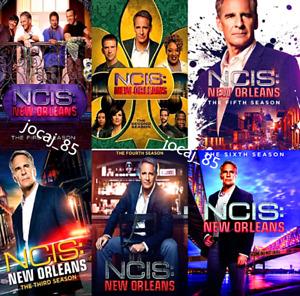 NCIS New Orleans: Complete Series Seasons 1-6 DVD Box Set,18-Disc US Seller,New