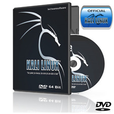 KALI LINUX XFCE DVD Boot into a Live Operating System Utilities Works on Windows