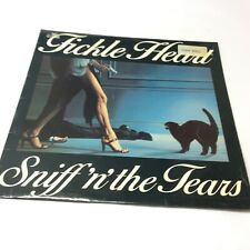 Sniff 'n' The Tears Fickle Heart 1978 Chiswick Vinyl  LP VG+/VG+ Very Clean