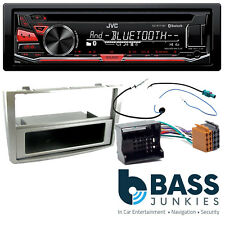 Peugeot 308 2007 On JVC Bluetooth CD USB MP3 AUX Car Stereo Silver Fitting Kit