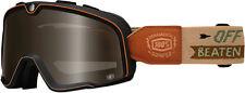 100% MX Motocross BARSTOW Goggles (ORNAMENTAL CONIFER w/Anti-Fog Bronze Lens)