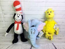 Dr. Seuss Cat Hat Horton Hears A Who Sleep Book Kohls Cares Plush Stuffed Animal