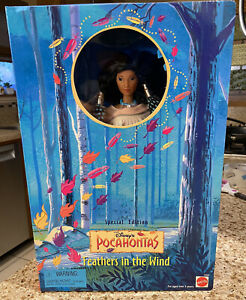 1996 Mattel Disney POCAHONTAS Feathers in the Wind Special Edition Barbie Doll