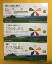 3 X Nutrilite Double X Dietary Supplement - 31day refill EXP 03/2019