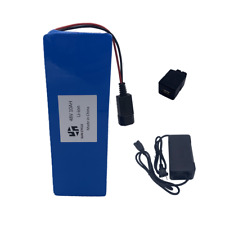 52V 48V 10Ah Ebike Battery Lithium Ion 3A Charger Rechargeable Electric Bicycle