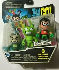 Teen Titans Go Gizmo, Robin , Beast Boy 3 Pack Of Minifigures New