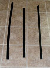 (QJE5320) Lot of 3 Heavy Weight Black Leather Strips