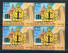 Block Sri Lankan Stamps