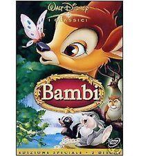 DISNEY DVD Bambi (2 dvd) - ed. speciale sigillato