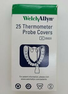 25 Welch Allyn Probe Covers OEM SureTemp Spot 690 692 Thermometers 05031