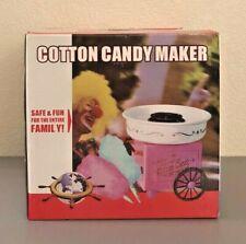 New Listingmini Cotton Candy Machine Hard Sugar Floss Maker Kit With Pink Vintage Design