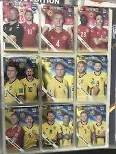 Adrenalyn Xl Fifa 365 2019 Complete Nordic Set Cards 397-405