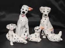Disney China 101 Dalmatians Set Of 6 Figurines Pongo Perdita & Pups