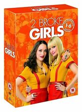 2 Broke Girls Season 1 2 3 4 5 6 The Complete Series Region 4 DVD Two Broke
