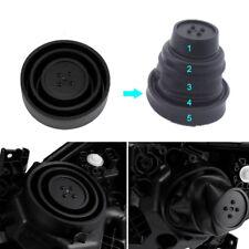 2X Universal Seal Cap Dust Cover 5 Sizes for Car Headlight LED HID Lamp Trim Kit