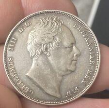 More details for 1834 william iv half crown 14.1 grams ef mintage 993,168,  w.w. script