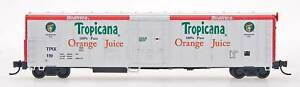 InterMountain N Scale RM-21005 Tropicana White w/Red Ends 57' Mechanical Reefer