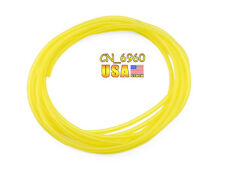 10FT Yellow Tygon Petrol Fuel Gas Line Pipe Hose For Trimmer Chainsaw Blower