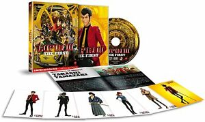 LUPIN III THE FIRST - LIMITED - CARDS + BOOKLET - DVD