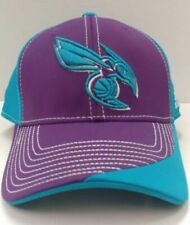 Charlotte Hornets Adidas Adjustable Structured Snapback Hat / Cap - Free Ship