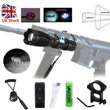 IR 850NM 20mm LED Flashlight Hunting Light Infrared Night Vision Torch Lamp UK