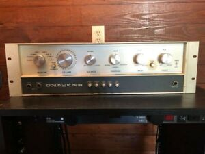Crown Model IC 150A Control Stereo Preamplifier