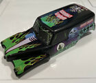 Grave Digger New Bright RC Truck Bad to the Bone Body Shell 11 inch long 1/16