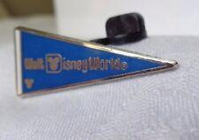 Disney Pin# 75157 2010 Hidden Mickey Series Walt Disney World Pennant Blue