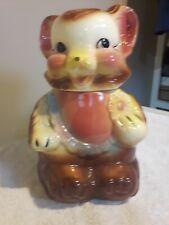 Vintage American Bisque USA Bear Cookie Jar