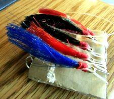 5 Vintage Steelhead/Salmon Flies With Large 2 Sz Hooks Nice