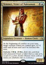 Temmet, Vizier of Naktamun -NM- Amonkhet Gold Rare MTG Magic Cards