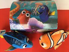 BUILD A BEAR Disney Stuffed Animal Finding Dory Nemo & ToyBox Chest Boy Girl Fan