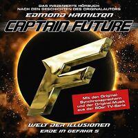 EDMOND HAMILTON - CAPTAIN FUTURE: ERDE IN GEFAHR-FOLGE 05   CD NEU