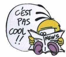 "PINS LE PIAF AXEL CANARI OISEAU BIRD "" CHUI'S COOL "" DAN SALEL NEWS JOURNAL"