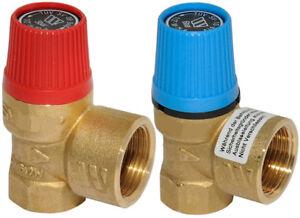 """Watts Sicherheitsventil 3/4"""" DN 20 3 6 8 10 bar Überdruckventil Boiler Wasser"""