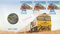 PNC Australia 2020 Indian Pacific Railway 50 Years RAM 50c Coin Limited Ed 1000