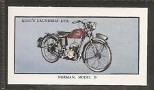KINGS LAUNDRIES-MODERN MOTORCYCLES-#16- NORMAN MODEL D