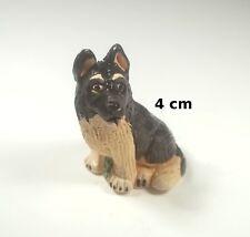 chien miniature en céramique ,collection, vitrine, hondje, dog   G-chiens-W10