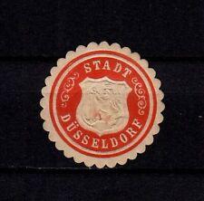 410406/ Siegelmarke – Stadt DÜSSELDORF
