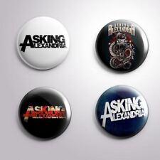 4 ASKING ALEXANDRIA - Pinbacks Badge Button Pin 25mm 1''