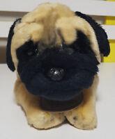 YOMIKO CLASSICS PUG DOG PLUSH TOY! SOFT TOY RUSS BERRIE 39CM LONG KIDS TOY!