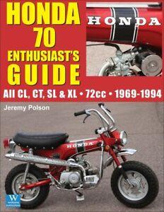 HONDA 70 BOOK GUIDE ENTHUSIASTS MANUAL POLSON 1969-1994