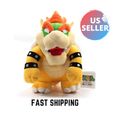New Super Mario Bowser Plush 10in Stuffed Animal Bowser Soft Toy