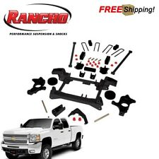 "Rancho RS6548B 4"" Suspension Lift Kit For 2001-2010 Chevy Silverado 2500 3500 HD"