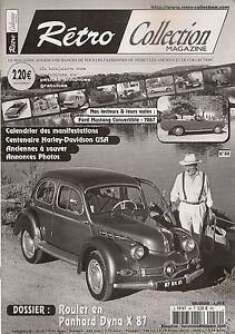 RETRO COLLECTION 44 2003 ROULER EN PANHARD DYNA X 87 FORD MUSTANG CABRIO 1967