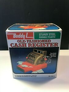 Vintage 1976 Buddy L Old Fashioned Toy Metal Cash Register Japan in Box