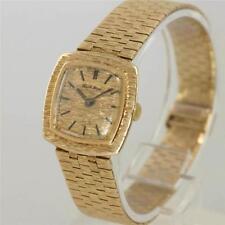 Reloj de Pulsera Bueche Girod 9ct oro señoras Vintage Pulsera Circa década de 1960