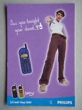 SAVVY LET'S MAKE THINGS BETTER PHILIPS ADVERT AVANT CARD #3067 POSTCARD